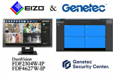 EIZO et Genetec collaborent !