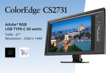 Eizo lance le ColorEdge 2731