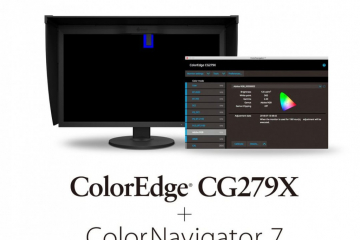 Lancement du ColorEdge CG279X + ColorNavigator 7